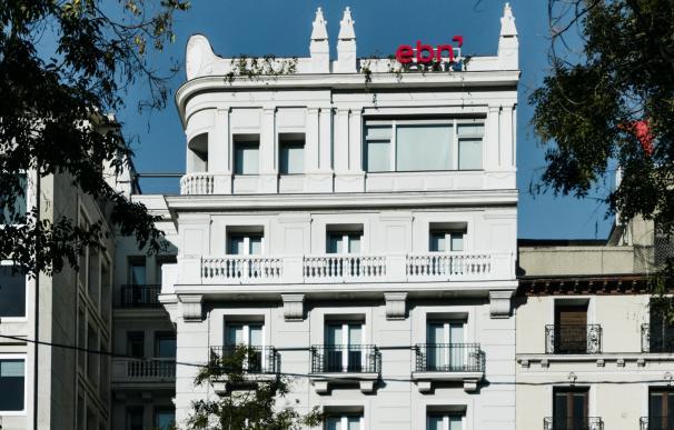 Edificio de EBN Banco en Paseo de Recoletos (Madrid)