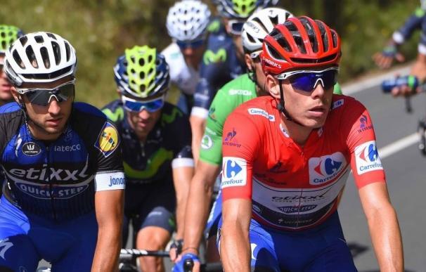 David de la Cruz en la Vuelta a España