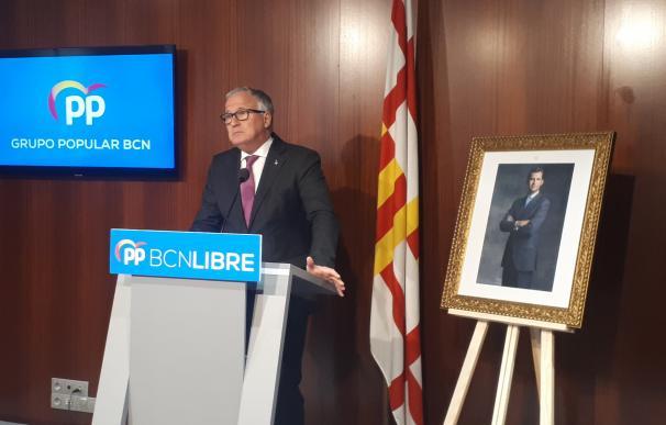 El líder del PP en Barcelona, Josep Bou.