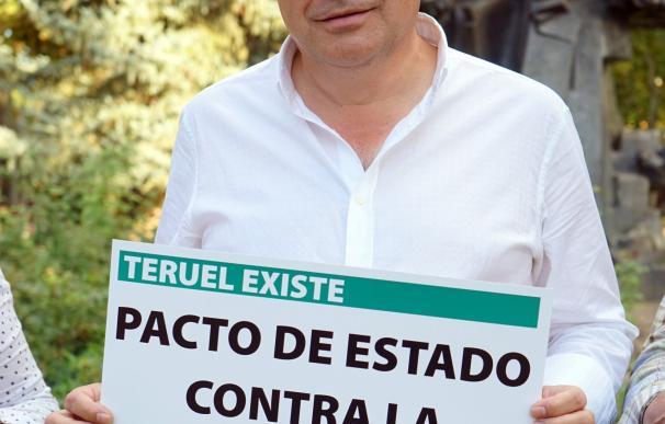 Tomás Guitarte, diputado de Teruel Existe en el Congreso