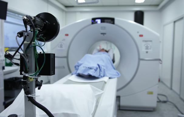 Sala de escáner en un hospital