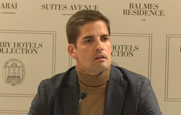 Robert Moreno durante su comparecencia este jueves. /RTVE