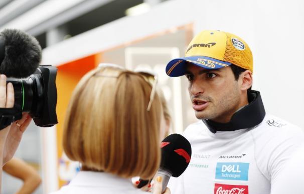 El piloto español Carlos Sainz, del equipo McLaren.