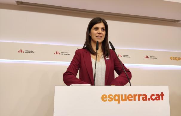 La portavoz de ERC, Marta Vilalta