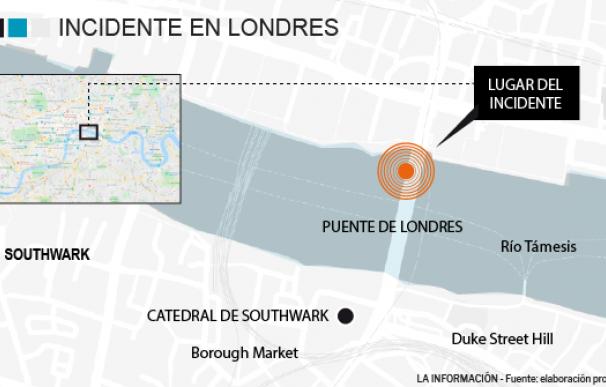 Localizador ataque terrorista Londres