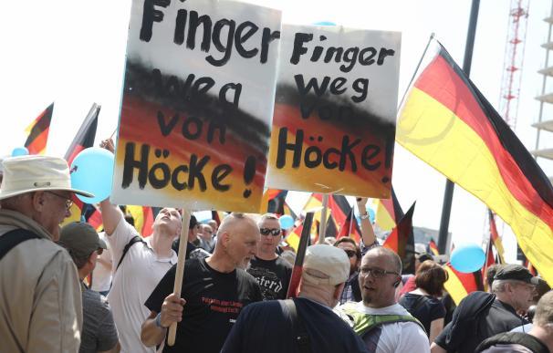 Manifestación de Alternativa para Alemania (AfD) en Berlín