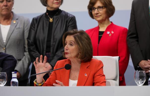 La presidenta del Congreso de EE.UU., Nancy Pelosi
