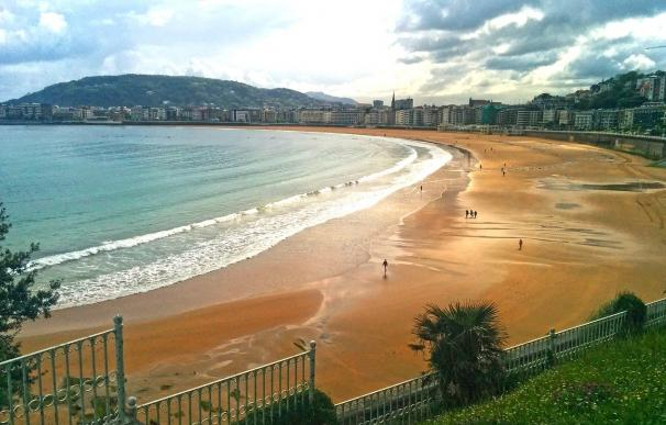 Fotografía de la playa del Sardinero en Santander.