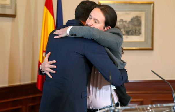 El pacto Sánchez-Iglesias pone en jaque a los mercados en pleno parón económico