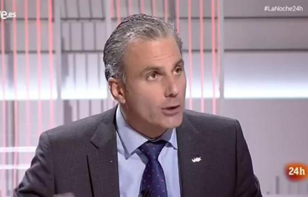 Ortega Smith en 'La noche en 24h'. /RTVE