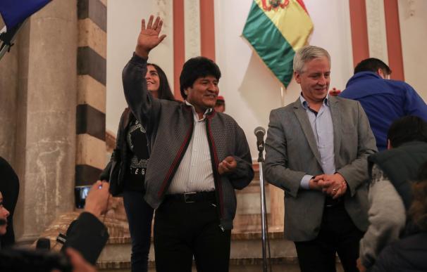 Evo Morales, elecciones Bolivia