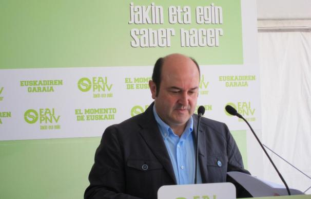 Andoni Ortuzar plantea que, además del himno de España, suene el vasco y el catalán en la final