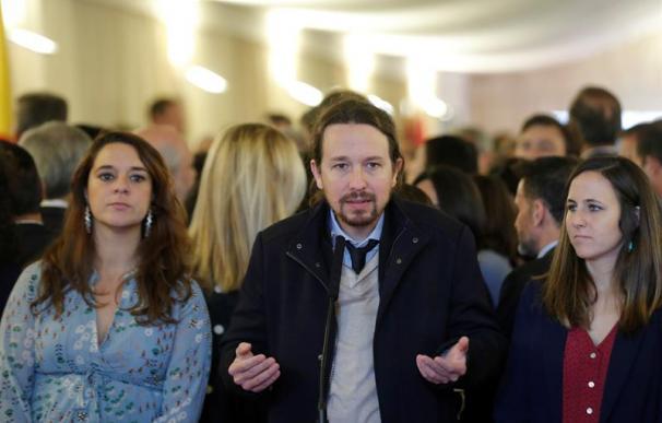 Pablo Iglesias, día de la Constitución