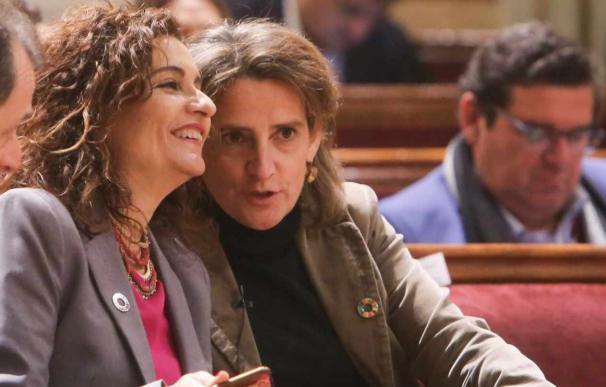 Fotografía María Jesús Montero y Teresa Ribera / EP