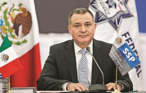 Genaro García Luna durante su etapa en el gobierno. /L.I.