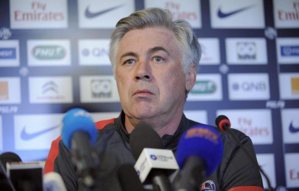 Ancelotti decidió irse del PSG en marzo porque sintió falta de confianza