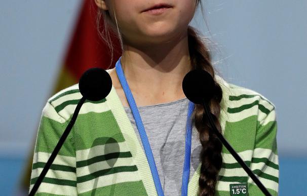 Greta Thunberg en la COP 25. / EFE