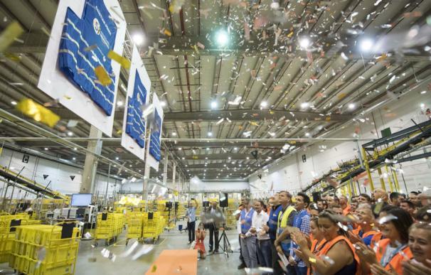 Fotografía planta Amazon San Fernando / EFE