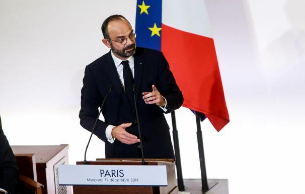 Francia protestas - Primer ministro Edouard Philippe