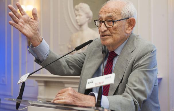 Aristóbulo de Juan, exgobernador del Banco de España