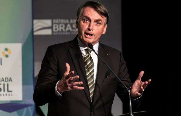 El presidente Brasileó, Jair Bolsonaro. /EFE