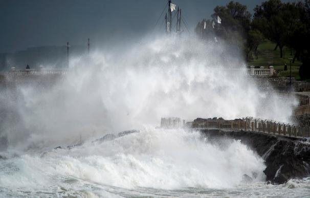 Un fuerte temporal azota a España
