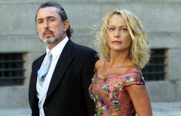 Paco Correa y su exmujer Carmen Rodríguez Quijano, exadministradora de la empresa ahora a subasta.