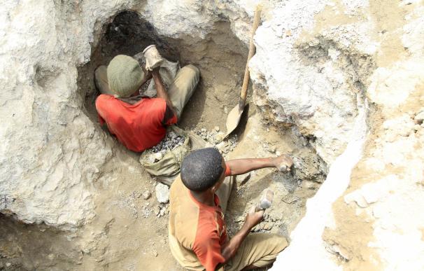 Mina de cobalto República Democrática del Congo