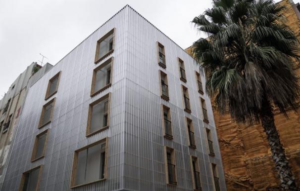 Pisos hechos de contenedores marítimos. / Ayuntamiento de Barcelona