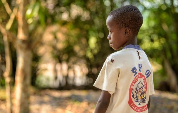 Niño en República Democrática del Congo