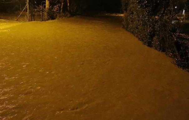 Una imagen de las inundaciones en Reinosa. /L.I.