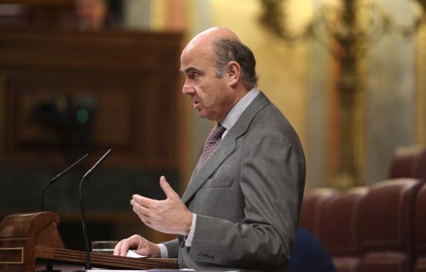 Guindos reitera que el Gobierno y el Frob carecían de competencias en la resolución de Banco Popular