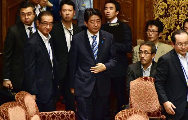 El primer ministro japonés, Shizo Abe