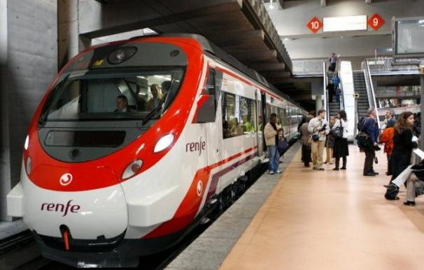 Tren de cercanías de Renfe. EFE
