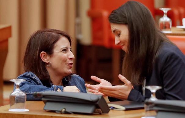 Adriana Lastra e Irene Montero