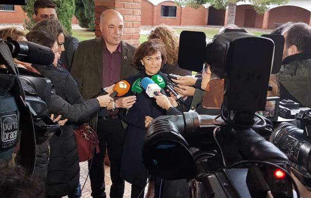 """Calvo afirma que los ciudadanos """"se merecen"""" acabar el año con investidura"""