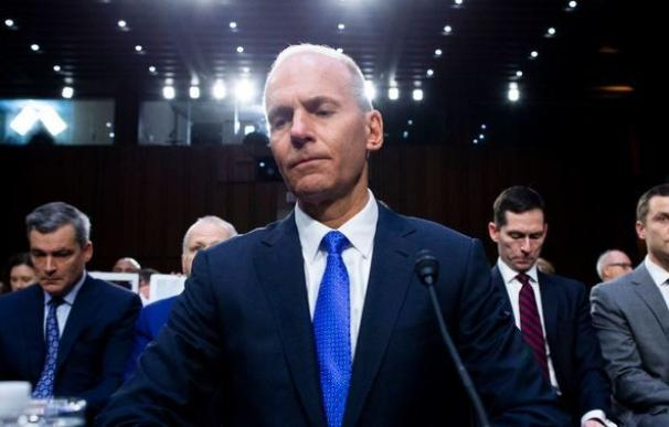 """El """"Annus horribilis"""" le cuesta el cargo al CEO de Boeing, Dennis Muilenburg. /EFE/Michael Reynolds"""