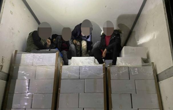 El conductor desconocía la carga que portaba. /Bundespolizei Passau