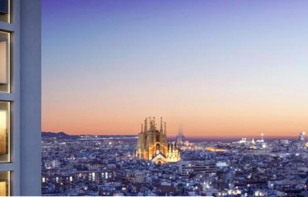 Vistas de la nueva promoción de Hotel Mandarin en Barcelona.