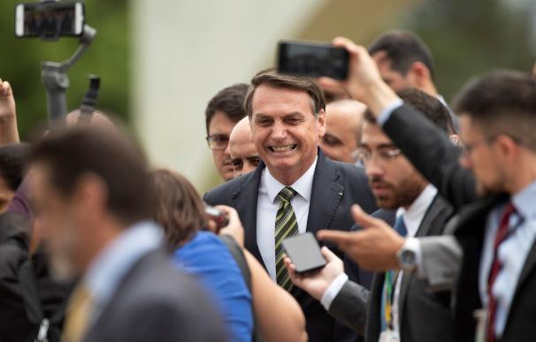 El presidente de Brasil, Jair Bolsonaro, en imagen de archivo. /EFE