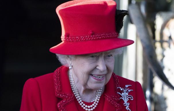 Isabel II en Navidad. / EFE