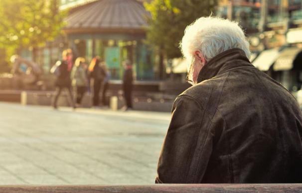 Imagen de un jubilado