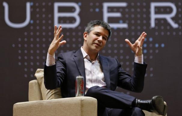 Travis Kalanick, CEO de Uber. EFE