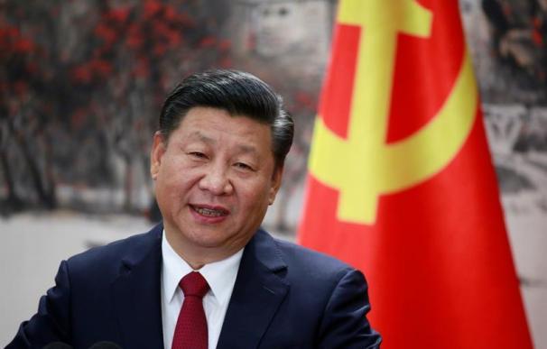 Fotografía del secretario general del Partido Comunista de China, Xi Jinping