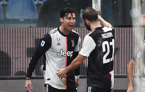 Fotografía de Cristiano Ronaldo en la Juventus.