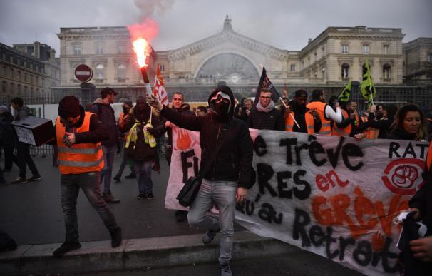 Huelga chalecos amarillos Francia