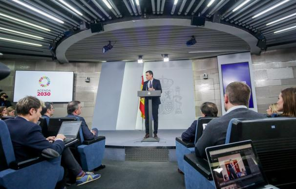 Rueda de prensa Pedro Sánchez