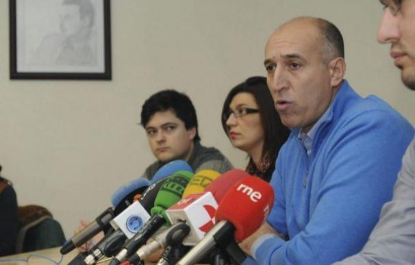 José Antonio Díez, alcalde de León, en una imagen tomada cuando era secretario de la Agrupación Local del PSOE./EFE