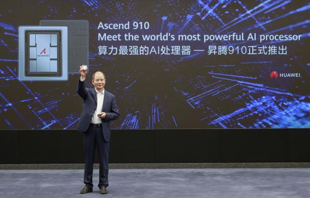 Eric Xu, presidente rotativo de Huawei