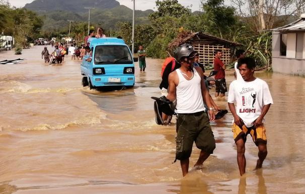 Tifón Filipinas muertos. / EFE